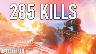 285 KILLS WORLD *RECORD* on Battlefield 5! | Battlefield V Record Kill Gameplay