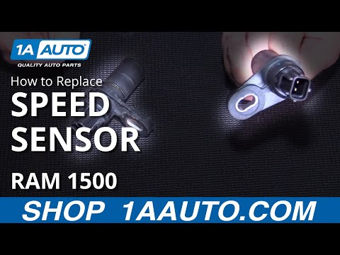 How to Install Replace Output Speed Sensor Dodge Ram BUY QUALITY AUTO PARTS AT 1AAUTO.COM