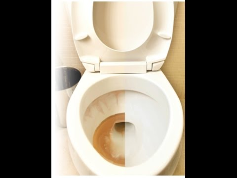 How to Remove Rust, Lime, and Hard Water Stains From Toilets