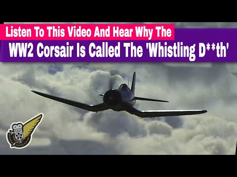 Listen To How The WW2 Corsair Got Its Nickname