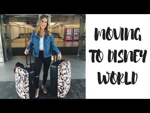 Moving To Disney World Vlog | Disney CEP 2018