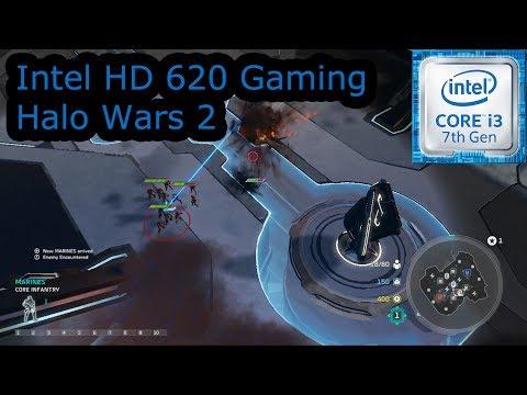 Intel HD 620 Gaming - Halo Wars 2 - i3-7100U, i5-7200U, i7-7500U, Kaby Lake