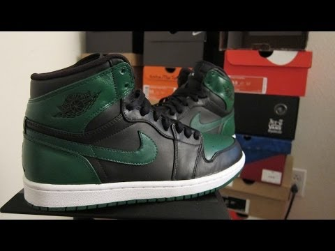 Air Jordan Green Lantern 1 Custom (Time Lapse)