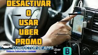 cómo desactivar uber PROMO