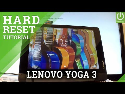 LENOVO Yoga 3 HARD RESET - Bypass Pattern / Erase Everything