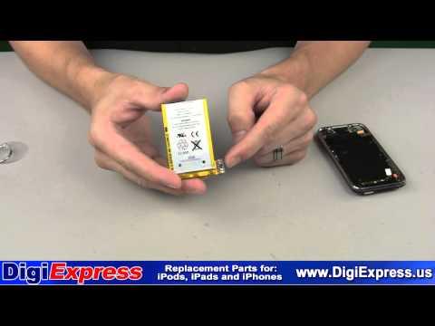 DigiExpress - iPhone 3G 3GS Battery Installation