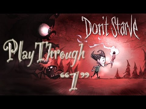 Don't Starve let's play:   How To Get Started Playthrough   (Part 1)