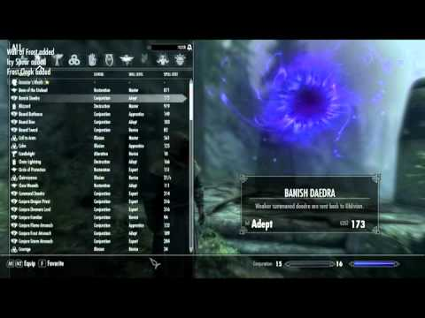 Skyrim - Using a Batch File to Obtain All Legal Spells