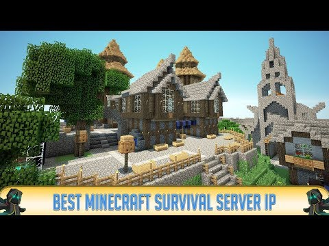 Minecraft 1.12.2 TOWNY SURVIVAL SERVER! (IP in Desc.) | SURVIVAL | 2018