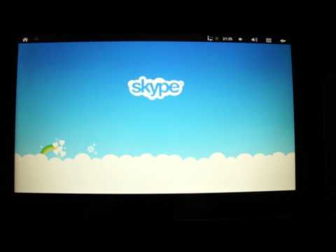 Installing Skype on ibex Flytouch 5 From Android Market