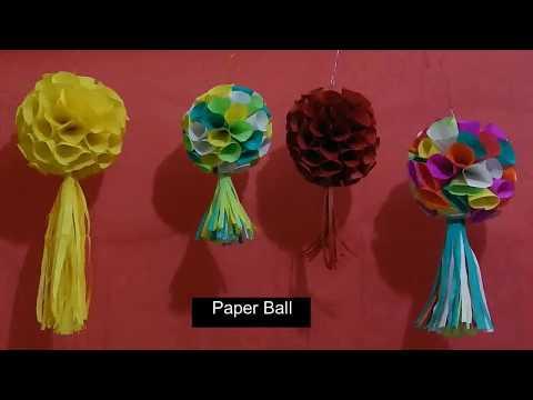 paper ball |  christmas ornaments | hanging paper ball  | christmas decorations
