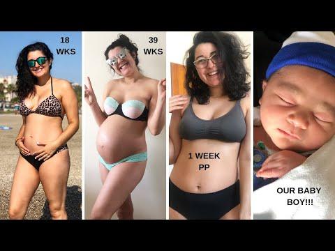 Xxx Mp4 MEET OUR SON Pregnancy Transformation Week 10 1 Week PP 3gp Sex
