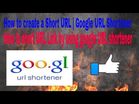 How to Shorten URL? | Google URL Shortener | how to make our own download link  through Google Drive