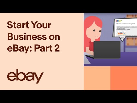 Start Your Business on eBay: Part 2 – Linking to your PayPal Account