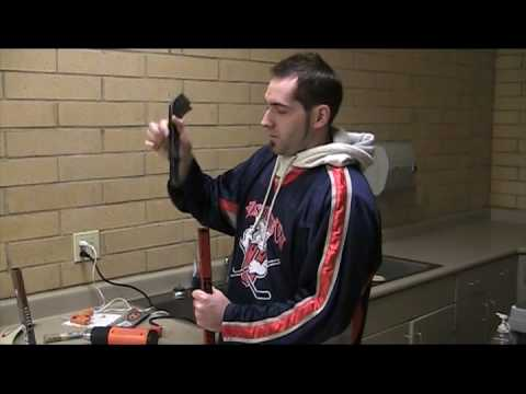 How to Replace a Hockey Stick Blade