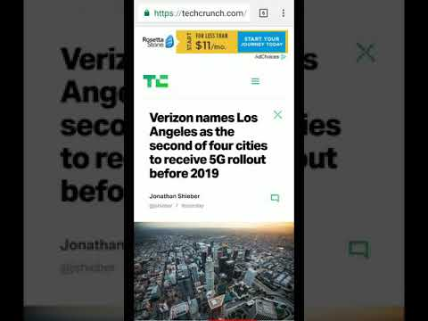 New cities announced for Verizon and Sprint 5th generation networks.
