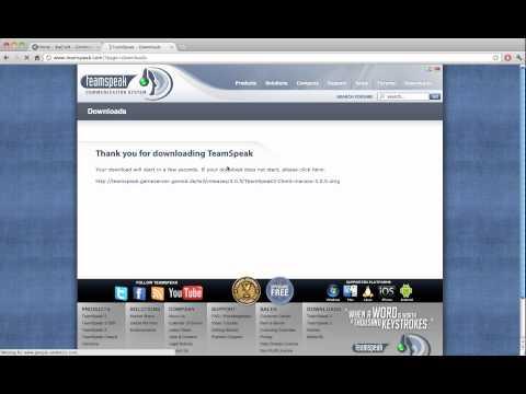 How to download Teamspeak 3 [MAC]