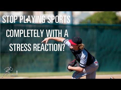 Can you play sports despite a stress reaction?