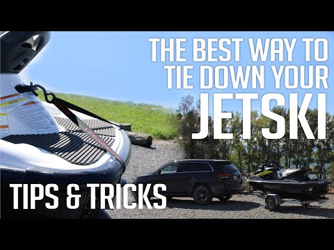 Aerofast Tiedowns - How to Tiedown your Jet Ski