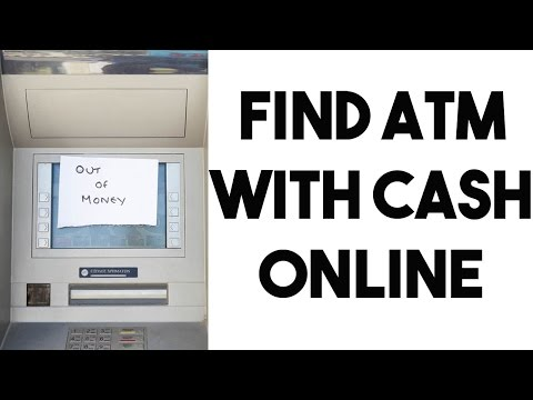 Check ATM Cash Status Online