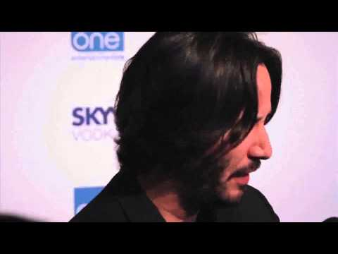 2013 Keanu Reeves at the TIFF party at eOne blue carpet