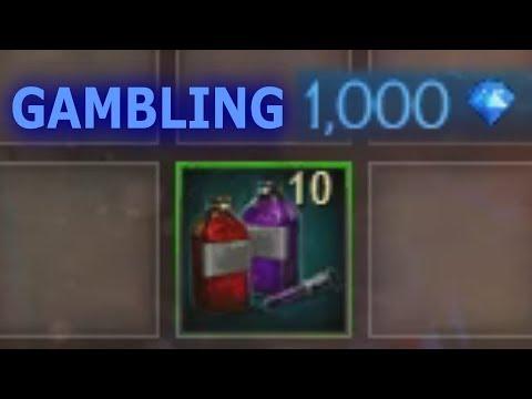 Gambling 10 Bloodstone Dye Kits  |  Guild Wars 2