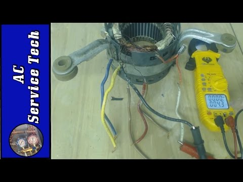 HVAC Blower Motor Not Working! Testing Resistance Values & Thermal Overload to see What is Bad!