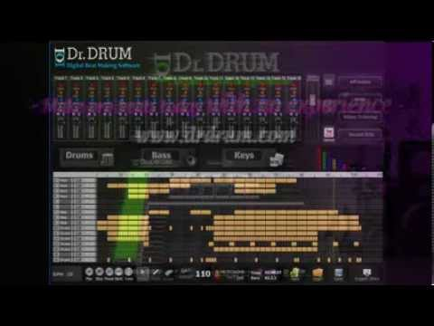 Trying to make the best rap beat? Use Dr Drum!