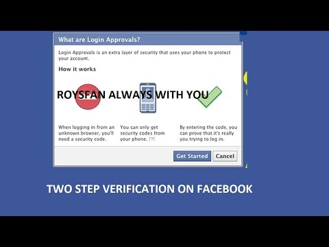 How To Active Two Step Verification (Login code) on Facebook
