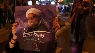 Iran re-elects President Hassan Rouhani