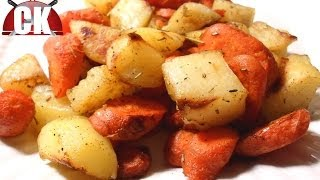 How To Make Roasted Potatoes And Carrots Easy Cooking
