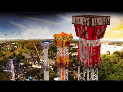 Discussing Hersheypark's 2017 Additions - Hershey Triple Tower!