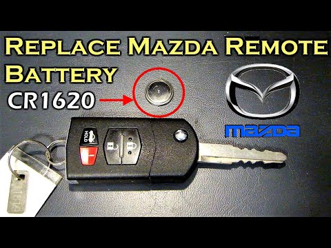 Replace Mazda Remote Battery