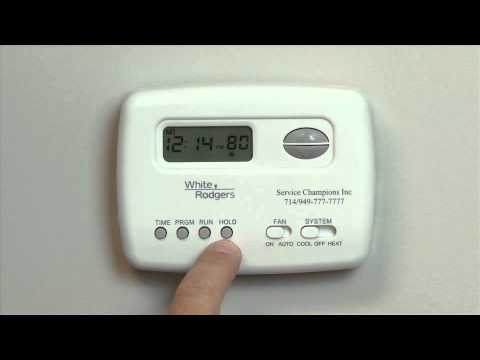 White Rodgers Thermostat 1F78 - Service Champions