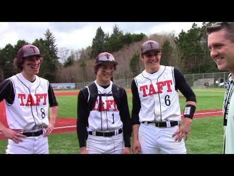 Stempel, Knott, King Lift Tigers to win - Taft High Baseball