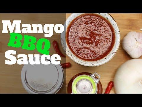 Homemade Mango BBQ Sauce , Gluten Free