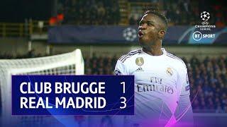 Club Brugge vs Real Madrid (1-3) | UEFA Champions League Highlights
