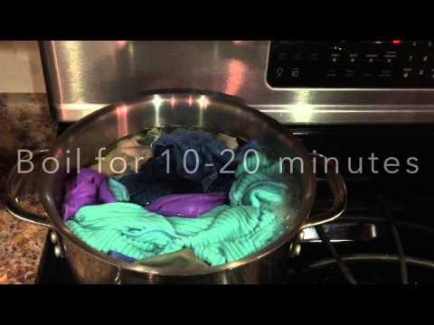 How To: Boil Your Microfiber Cloths