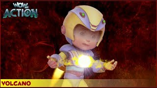 Vir : The Robot Boy   Volcano   3D Action shows for kids   WowKidz Action