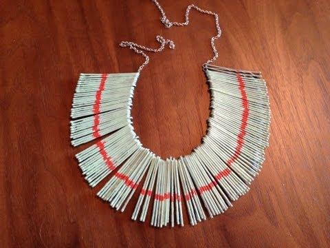 DIY Bobby Pin Necklace