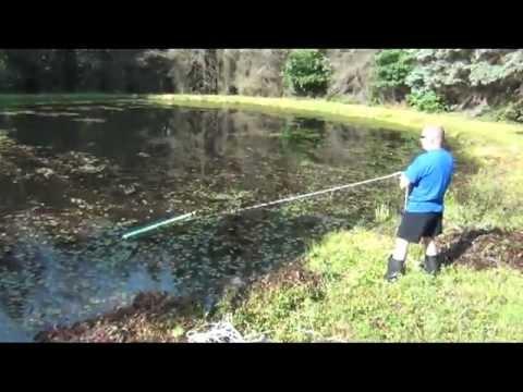 Deskuzzer the pond surface cleaner.mp4