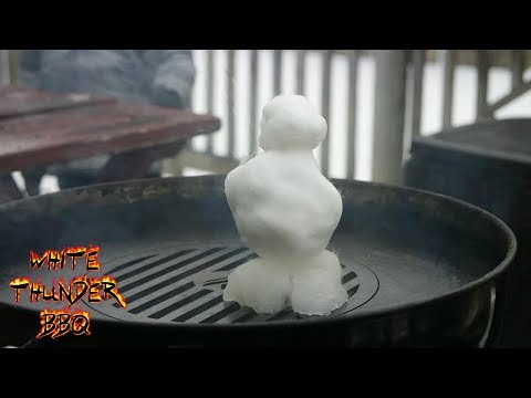 How To Grill A Snowman