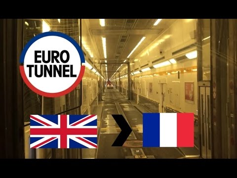 Eurotunnel Le Shuttle: UK To France (Full Journey On Coach) (03/12/2016)