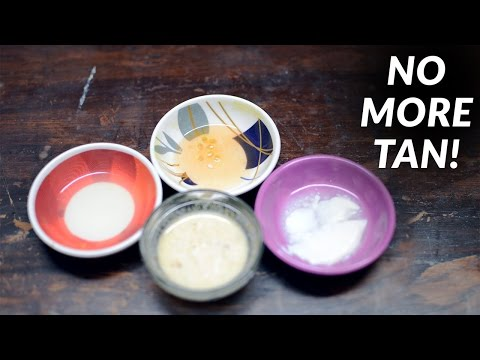 DIY WEDNESDAY│ HOW TO REMOVE TAN FROM FACE & NECK │ PAYAL SINGH
