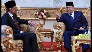 Anwar meets the King