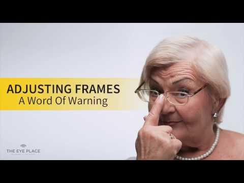 Adjusting Frames - A Word of Warning