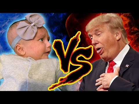 Baby Reaction To Donald Trump