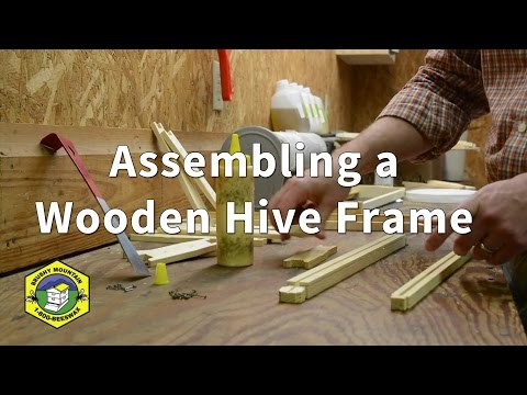 Assembling a Hive Frame