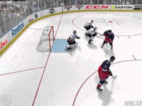 NHL 13 - Amazing Save by Hiller