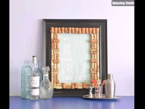 Wine Cork DIY Picture Frame